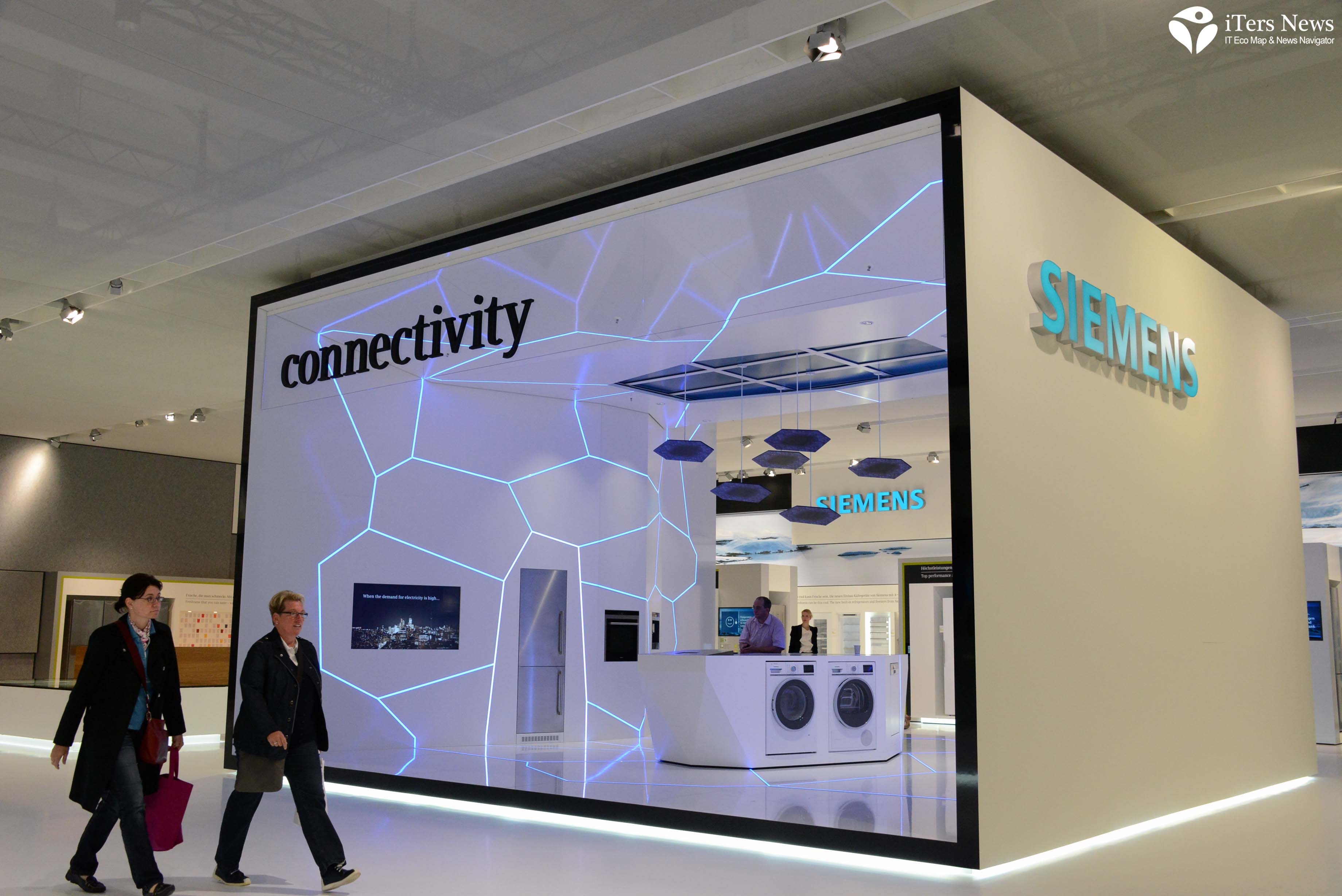 Siemens Freshness Center : Siemens paints a brave new world of connected smart home
