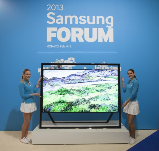 Samsung takes on European premium TV market with new line of smart