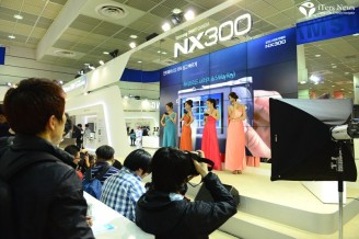 Samsung Electronics showcased recent innovations in camera technology