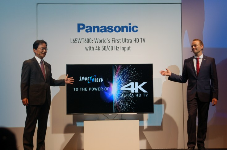 panasonic s 65 inch 4k uhd tv to go on sale in mid october with a