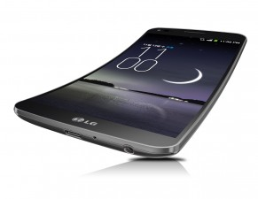 LG's 6-inch OLED screen smart phone G Flex comes curved top to bottom