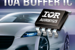 IR's highly compact 10A AUIR08152S gate drive IC shrinks automotive high current switching systems while boosting performance