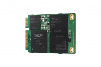 Samsung unveils 1 TB mSATA SSD that packs 64 126Gb NAND flash memory chips on a circuit board