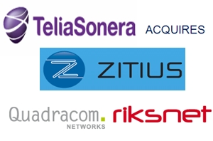 Teliasonera Acquires A Group Of Companies Within Open Fiber Networks