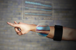 Muscle activity-based gesture control device allows users to wirelessly control smartphones and other devices using their fingers and hands alone