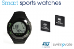 ST's motion sensors and microcontrollers propel category-creating sports watches from Swimovate