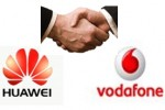 Huawei partners with Vodafone for five-year