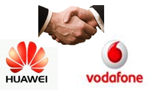 "Huawei partners with Vodafone for five-year ""Project Spring"" deployment in Europe and Africa"