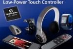 Microchip announces industry's lowest power projected-capacitive touch controllers