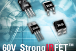 IR expands StrongIRFET family with new 60V MOSFETs featuring ultra-low Rds(on) for industrial applications