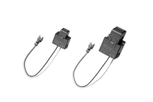 Clamp AC current sensors for power distribution panels