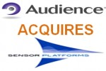 Audience completes acquisition of Sensor Platforms
