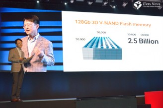 Samsung opens terabit era with 3D V-NAND flash memory chips