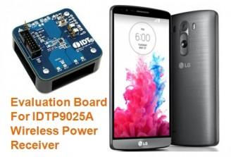 IDT wireless power technology incorporated on LG's flagship G3 smartphone