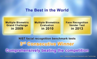 NEC's face recognition technology ranks first in NIST testing for third consecutive time