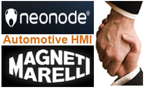 Neonode, Magneti Marelli to jointly develop automotive HMI solutions