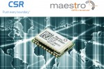 CSR, Maestro Wireless Solutions pitch low power and small form factor GNSS module