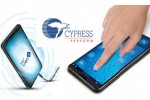 Cypress TrueTouch Gen5 touchscreen solution is at the heart of Samsung Galaxy S5 Mini's touch UI