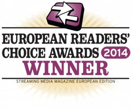 Allegro DVT wins 2014 Streaming Media Europe Readers' Choice Award with AL2400 high density transcoder