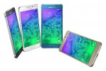 Less than 7 mm thick, Samsung's 4.7-inch Galaxy Alpha smartphone comes in a metal frame