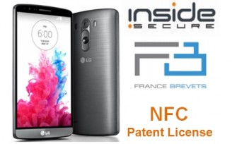 INSIDE Secure NFC patents licensed to smartphone manufacturer LG
