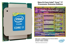 Intel unleashes its first 8-core desktop processor