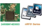 Johanson balun optimized for operation with Nordic Semiconductor nRF51 Series Bluetooth Smart and ANT SoCs