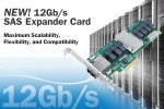 PMC enables density-optimized data center servers with industry's first 12Gb/s SAS Expander Card