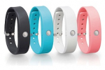 Toshiba's new wearable wristband fitness tracker runs two weeks without recharging