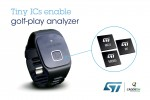 CaddieON improves your golf game with technologies from STMicroelectronics