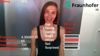 Fraunhofer IIS presents world's first emotion detection app on Google Glass