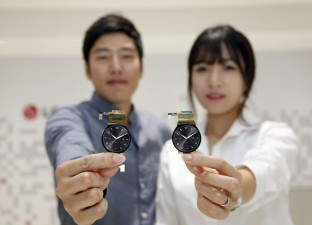 LG begins mass roll-out of circular-shaped tiny plastic OLED