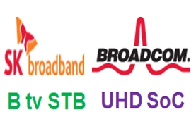 Broadcom enables SK Broadband's new in-home Ultra HD service