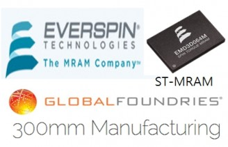 Everspin, GLOBALFOUNDRIES partner to build ST-MRAM technology on 300mm CMOS wafer