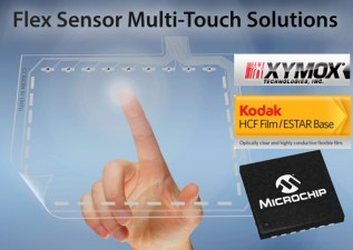 Microchip announces strategic partnership with Xymox Technologies for printed multi-touch sensor solutions