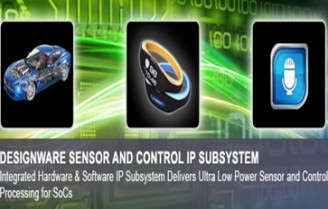 Synopsys releases new DesignWare sensor and control IP subsystem for  power-thrift SoCs