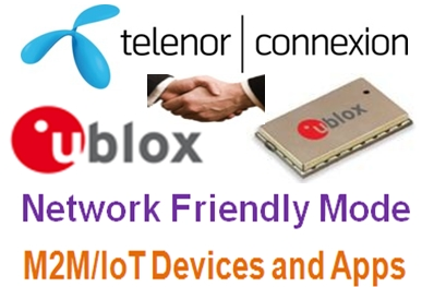 u-blox, Telenor Connexion team-up for Network Friendly M2M | IT Eco