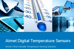Atmel debuts industry's first wide-Vcc low-power temperature sensor family