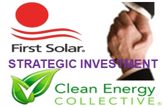 First Solar enters residential market with strategic investment in Clean Energy Collective