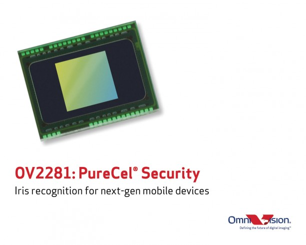 Omnivision rolls out iris-recognition CMOS image sensor chip