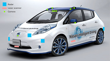 """Nissan puts """"Piloted Driving"""" car system to the test"""