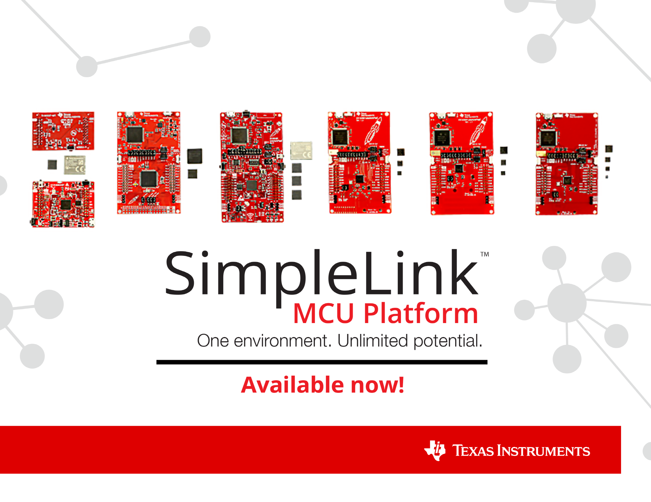 TI's new SimpleLink platform transforms development with 100 percent